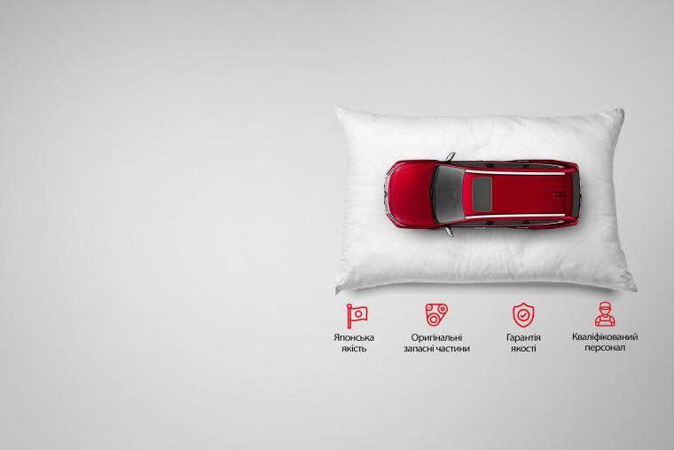 Обирай сервіс від Mitsubishi